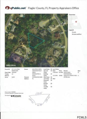 10 Princess Mari Pl, Palm Coast, FL 32164 (MLS #243324) :: Memory Hopkins Real Estate