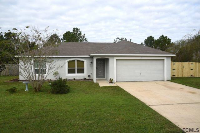 43 Longfellow Dr, Palm Coast, FL 32137 (MLS #243442) :: RE/MAX Select Professionals