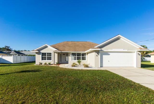 13 Burnham Lane, Palm Coast, FL 32137 (MLS #243996) :: Memory Hopkins Real Estate