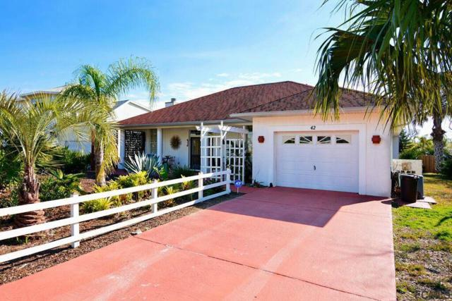 42 Flagler Drive, Palm Coast, FL 32137 (MLS #244912) :: Memory Hopkins Real Estate