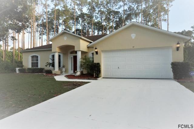 37 Ethan Allen Drive, Palm Coast, FL 32164 (MLS #248244) :: Memory Hopkins Real Estate