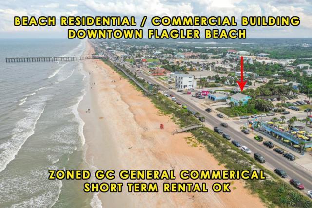 409 N Ocean Shore Blvd, Flagler Beach, FL 32136 (MLS #248900) :: Noah Bailey Group