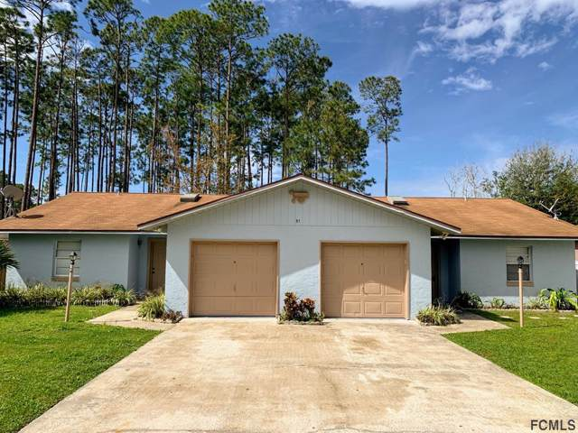 31 Emerson Dr, Palm Coast, FL 32164 (MLS #251218) :: Noah Bailey Group