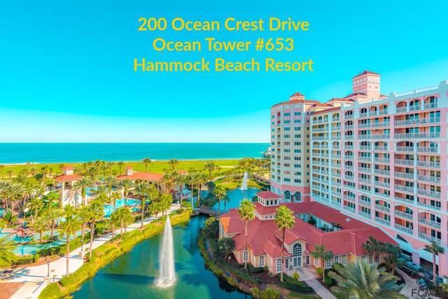 200 Ocean Crest Drive #653, Palm Coast, FL 32137 (MLS #253374) :: Memory Hopkins Real Estate