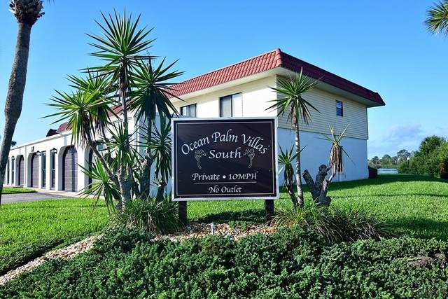51 Ocean Palm Villas S #51, Flagler Beach, FL 32136 (MLS #254959) :: The DJ & Lindsey Team