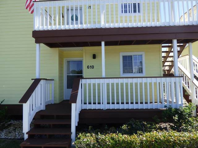 610 Ocean Marina Drive #610, Flagler Beach, FL 32136 (MLS #255004) :: The DJ & Lindsey Team