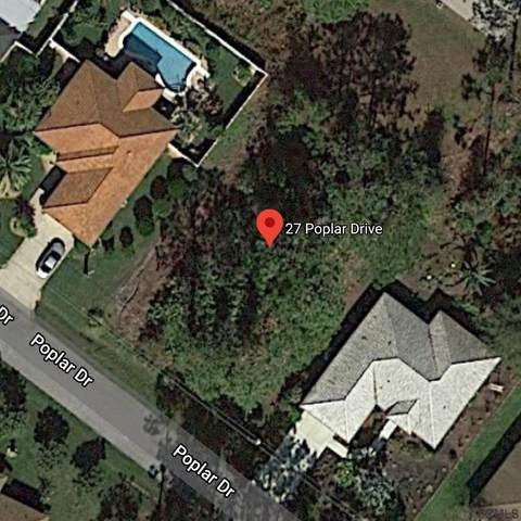 27 Poplar Drive, Palm Coast, FL 32164 (MLS #256341) :: Memory Hopkins Real Estate
