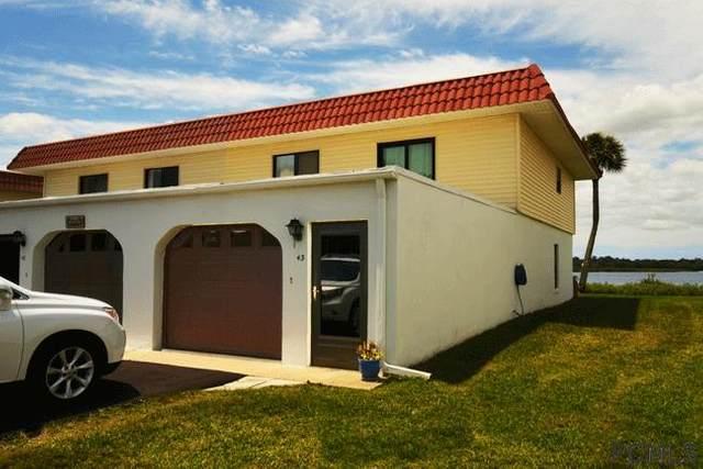 43 S Ocean Palm Villas S #43, Flagler Beach, FL 32136 (MLS #256771) :: Memory Hopkins Real Estate