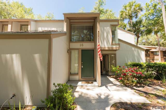 16 Mid Oaks Cir #16, Palm Coast, FL 32137 (MLS #257117) :: Memory Hopkins Real Estate