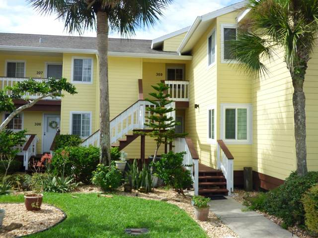309 W Ocean Marina Drive #309, Flagler Beach, FL 32136 (MLS #257612) :: Memory Hopkins Real Estate