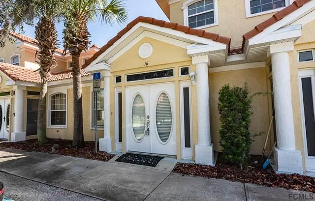 100 Palm Harbor Pkwy #16, Palm Coast, FL 32137 (MLS #259725) :: The DJ & Lindsey Team