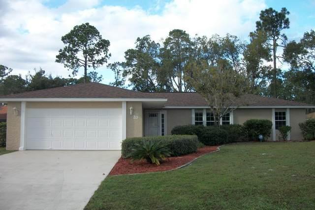 20 Fenwood Ln, Palm Coast, FL 32137 (MLS #262940) :: The DJ & Lindsey Team