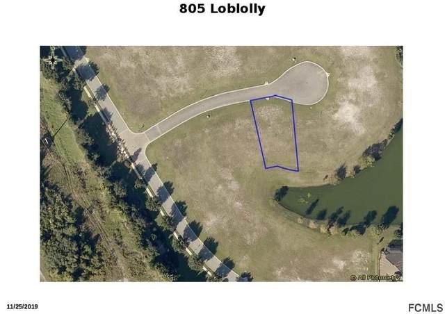 805 Loblolly Court, Palm Coast, FL 32137 (MLS #266073) :: NextHome At The Beach II