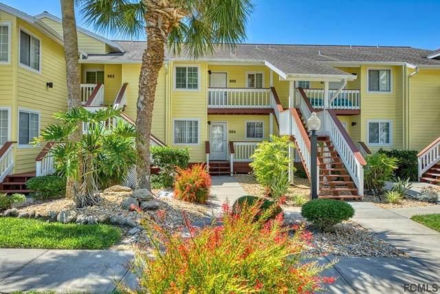 804 Ocean Marina Drive #804, Flagler Beach, FL 32136 (MLS #268366) :: Noah Bailey Group