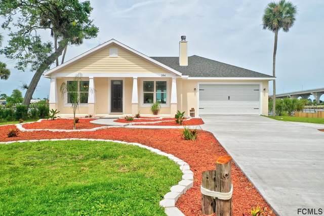 204 Lambert Ave, Flagler Beach, FL 32136 (MLS #268726) :: NextHome At The Beach II