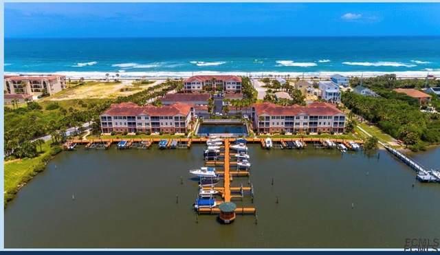 300 Marina Bay Drive Unit 106, Flagler Beach, FL 32136 (MLS #268727) :: NextHome At The Beach II