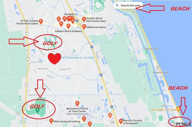 19 Wheeling Lane, Palm Coast, FL 32164 (MLS #268748) :: NextHome At The Beach II