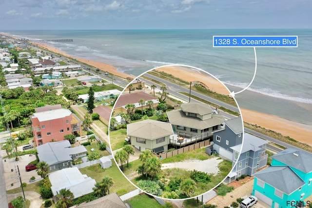 1328 S Ocean Shore Blvd, Flagler Beach, FL 32136 (MLS #268912) :: NextHome At The Beach II