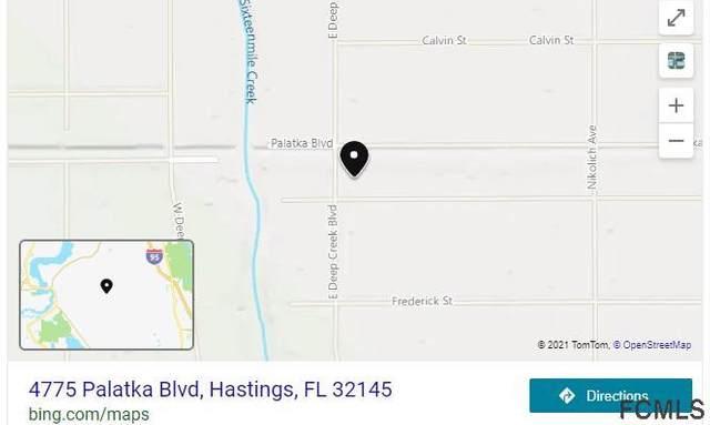 4775 Palatka Blvd, Hastings, FL 32145 (MLS #269482) :: NextHome At The Beach II
