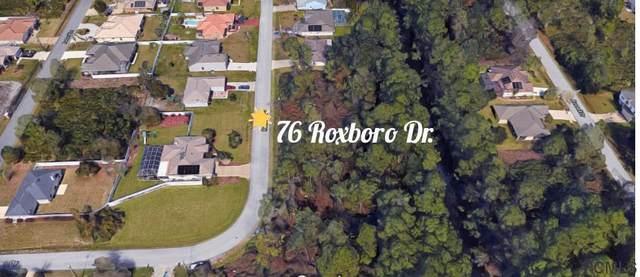 76 Roxboro Drive, Palm Coast, FL 32164 (MLS #269769) :: Memory Hopkins Real Estate