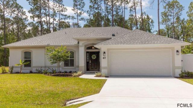 47 Robinson Drive, Palm Coast, FL 32164 (MLS #240806) :: Memory Hopkins Real Estate