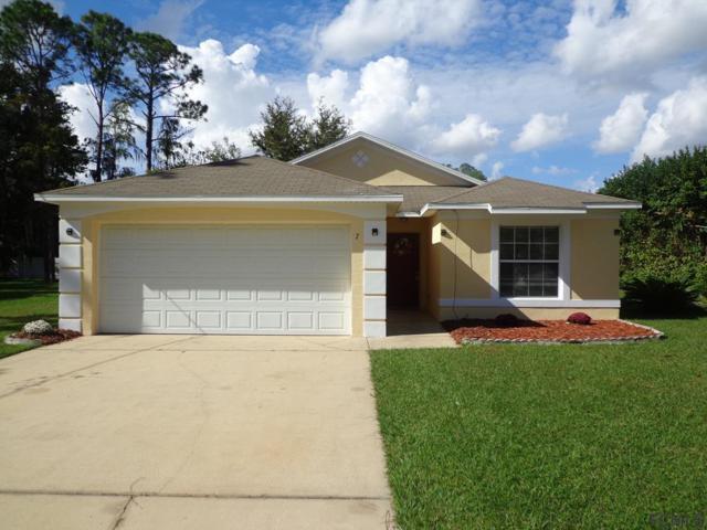 7 Postman Lane, Palm Coast, FL 32164 (MLS #243176) :: RE/MAX Select Professionals