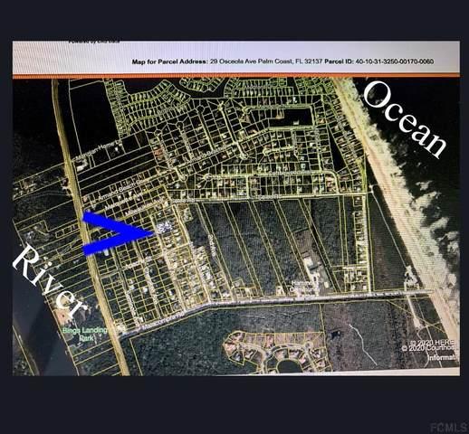 29 Osceola Ave, Palm Coast, FL 32137 (MLS #255246) :: The DJ & Lindsey Team