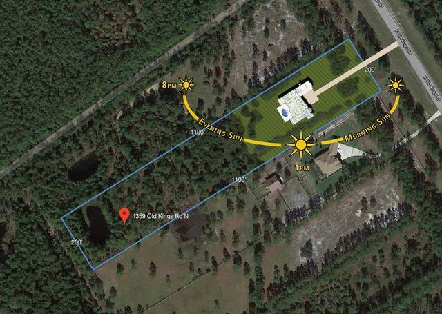 4359 Old Kings Rd N, Palm Coast, FL 32137 (MLS #257056) :: RE/MAX Select Professionals