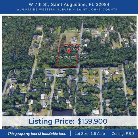 0000 W 7th St, St Augustine, FL 32084 (MLS #265864) :: RE/MAX Select Professionals
