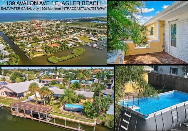 139 Avalon Ave, Flagler Beach, FL 32136 (MLS #271891) :: Olde Florida Realty Group