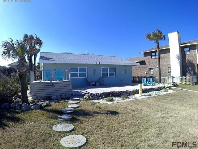 2124 S Ocean Shore Blvd, Flagler Beach, FL 32136 (MLS #239737) :: RE/MAX Select Professionals