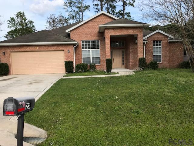 23 Beckner Ln, Palm Coast, FL 32137 (MLS #246655) :: RE/MAX Select Professionals
