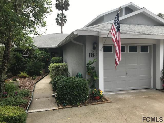 18 N Lake Forest Ct N #18, Palm Coast, FL 32137 (MLS #248377) :: RE/MAX Select Professionals
