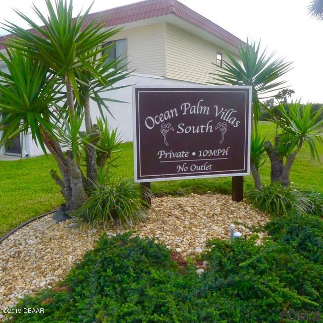 16 Ocean Palm Villas S #16, Flagler Beach, FL 32136 (MLS #249810) :: Memory Hopkins Real Estate