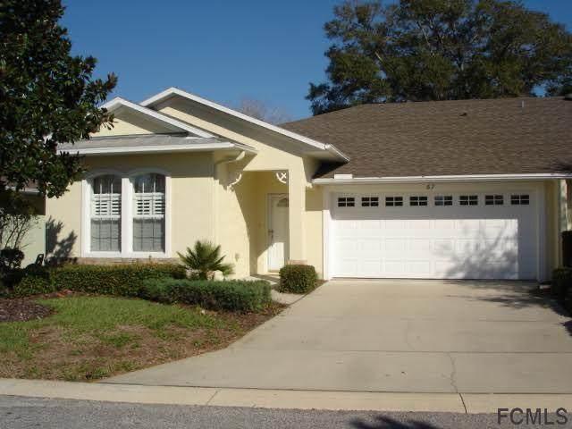 67 Veranda Way #67, Palm Coast, FL 32137 (MLS #268752) :: NextHome At The Beach II