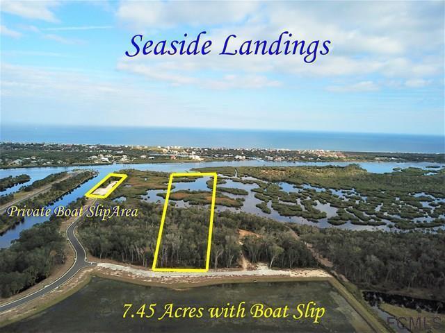 218 S Seaside Landings Dr, Flagler Beach, FL 32136 (MLS #234837) :: Memory Hopkins Real Estate