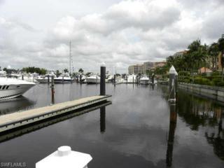 38 Ft. Boat Slip At Gulf Harbour E-1 E, Fort Myers, FL 33908 (MLS #215030799) :: The New Home Spot, Inc.