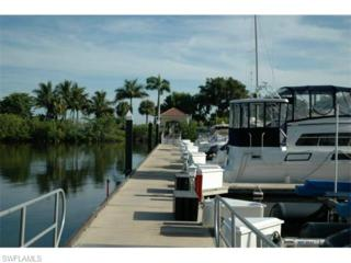 38 Ft. Boat Slip At Gulf Harbour A-11, Fort Myers, FL 33908 (MLS #215033798) :: The New Home Spot, Inc.