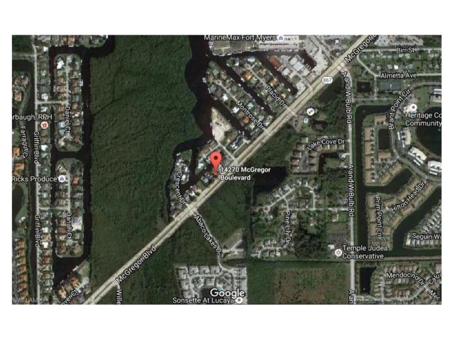 14270 Mcgregor Blvd, Fort Myers, FL 33919 (MLS #216080370) :: The New Home Spot, Inc.