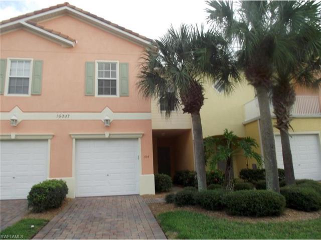 16097 Via Solera Cir #104, Fort Myers, FL 33908 (MLS #217002765) :: The New Home Spot, Inc.