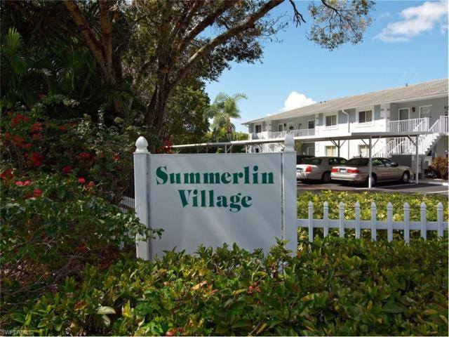 8150 Summerlin Village Cir #407, Fort Myers, FL 33919 (#217017311) :: Homes and Land Brokers, Inc