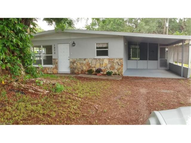 1270 Pinecrest St, North Fort Myers, FL 33903 (#217023608) :: Homes and Land Brokers, Inc