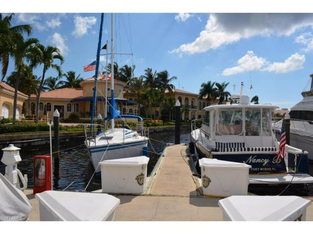 38 Ft. Boat Slip At Gulf Harbour D-35, Fort Myers, FL 33908 (MLS #217024674) :: The New Home Spot, Inc.