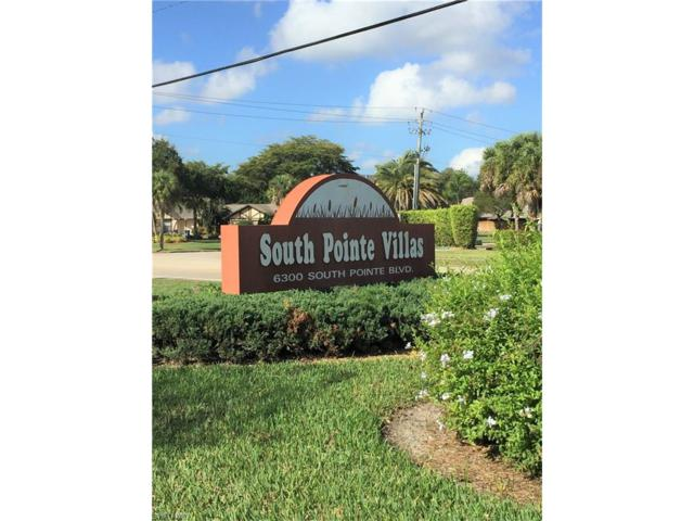 6300 S Pointe Blvd #139, Fort Myers, FL 33919 (MLS #217030702) :: The New Home Spot, Inc.