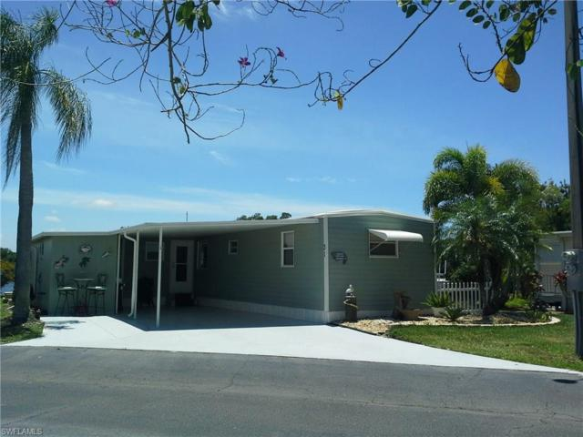 31 Channel Ln, Fort Myers, FL 33905 (#217034822) :: Homes and Land Brokers, Inc