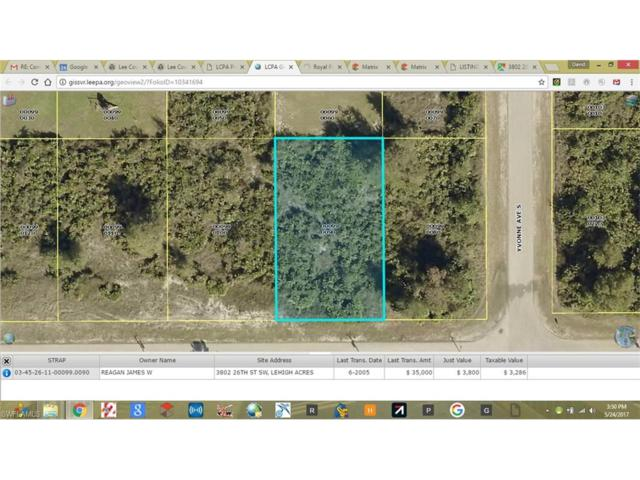 3802 26th St SW, Lehigh Acres, FL 33976 (MLS #217035981) :: The New Home Spot, Inc.
