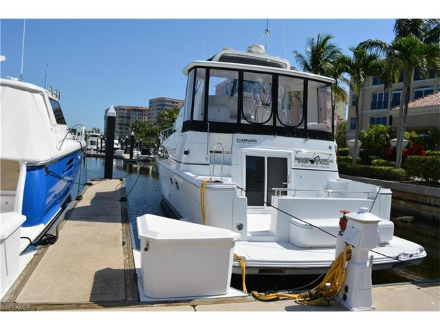 48 Ft Boat Slip At Gulf Harbour G-1, Fort Myers, FL 33908 (MLS #217036329) :: The New Home Spot, Inc.