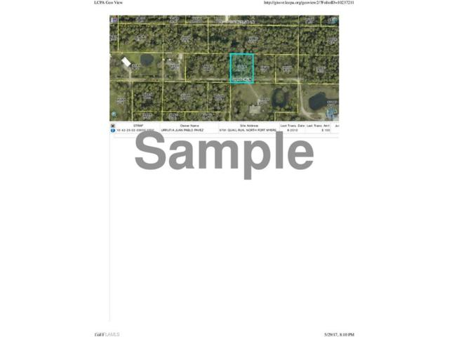9791 Quail Run, North Fort Myers, FL 33917 (#217039423) :: Homes and Land Brokers, Inc