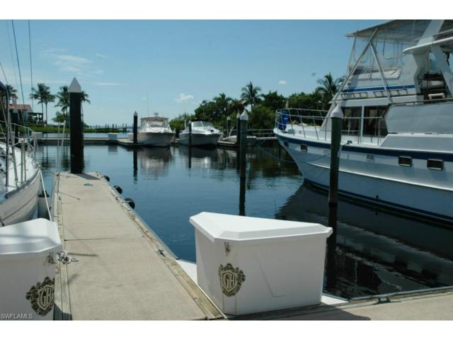 48' Slip At Gulf Harbour B-16, Fort Myers, FL 33908 (MLS #217053063) :: The New Home Spot, Inc.