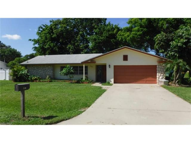 530 Sanford Dr, Fort Myers, FL 33919 (MLS #217053202) :: The New Home Spot, Inc.